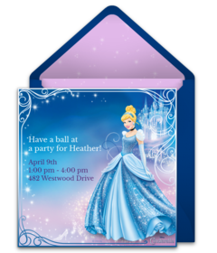 Disney Princess Punchbowl Card