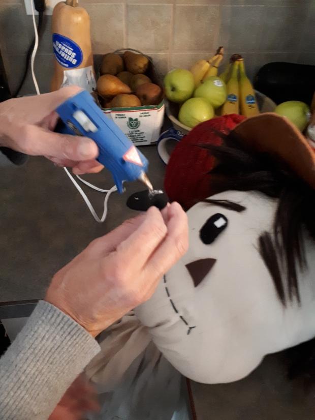 Scarecrow face