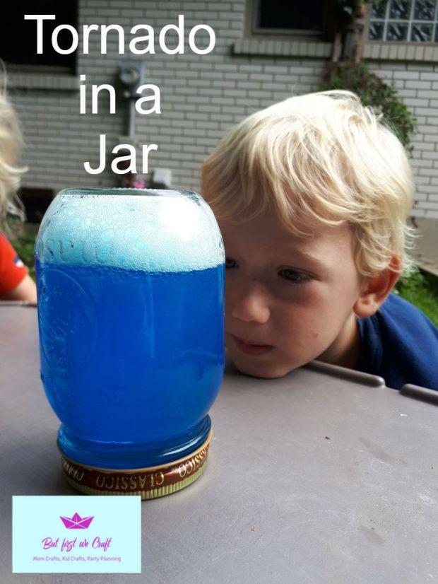 Tornado in a Jar with Logo