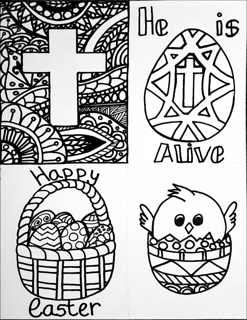 coloring pages : Easter Color Sheets For Preschoolers New Free ... | 1024x791
